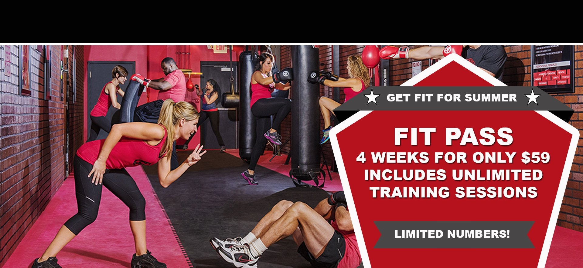 4 Weeks Unlimited Training For $59