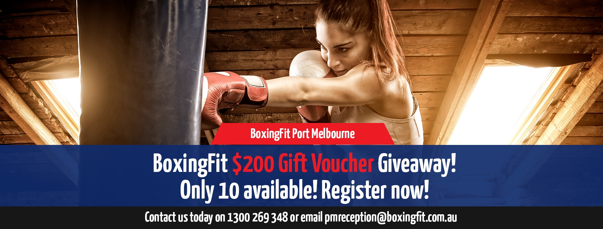 BOXING FIT GIFT VOUCHER OFFER